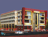 Modern Point -   commercial project comprising of commercial spaces by Meson Developers & Builders Pvt. Ltd. at Sharanpur Road in Nashik