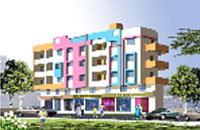 Suyash Park, a semicommercial project by Jyoti Builders & Developers, Tidke Colony, Nashik