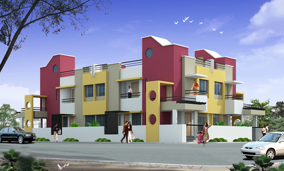 Vijay Palace A Residential Property For Row Bungalows By